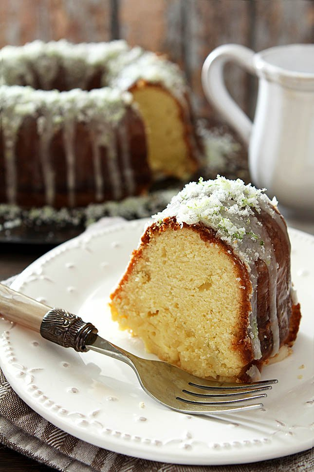 Margarita Pound Cake from @creativculinary