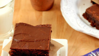 Mexican Espresso Brownies with Espresso Chocolate Glaze