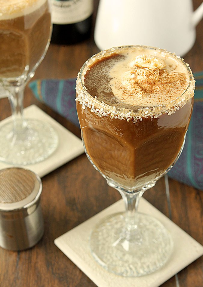 Mexican Coffee with Tequila and Coffee Liqueur
