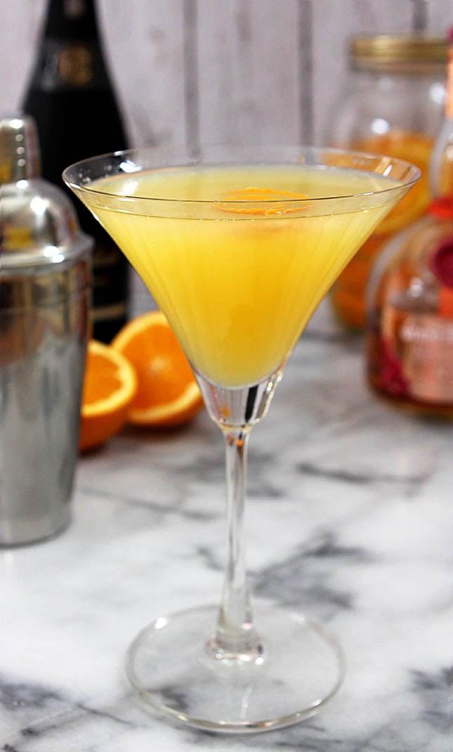 Orange Sunshine Martini from Creative-Culinary.com