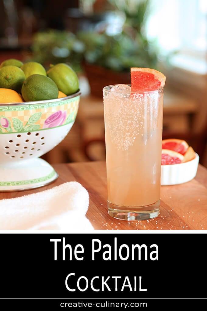 The Paloma Cocktail PIN