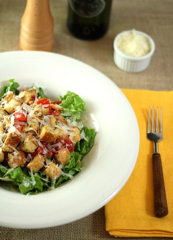 Panzanella (Tomato and Bread) Salad