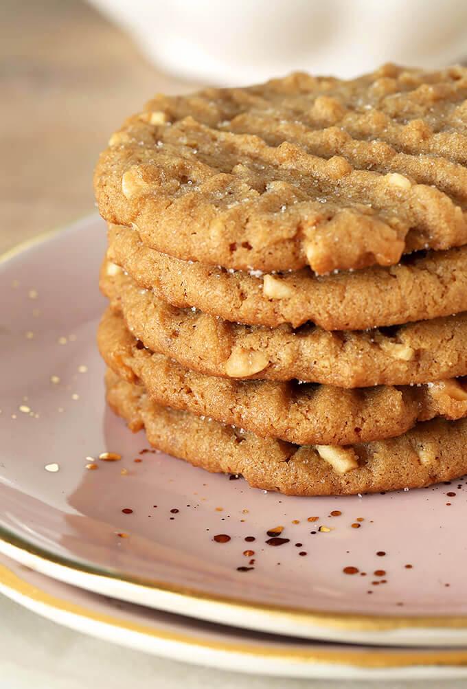 Flourless (Gluten Free) Peanut Butter Cookies