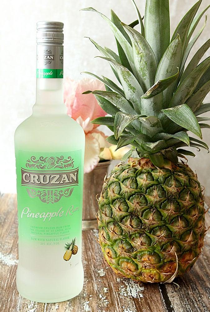 Pineapple Rum Mint Julep