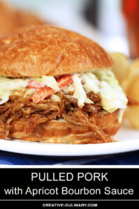 Pulled Pork with Apricot BBQ Sauce-apricot-bourbon-sauce-1-Rev1