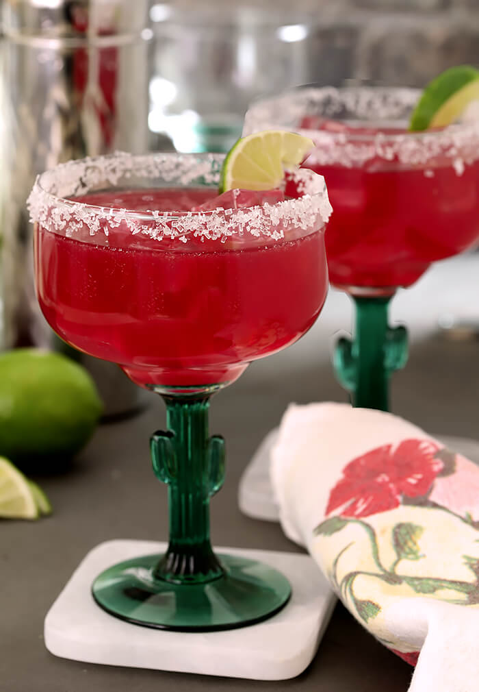 Prickly Pear Margarita one of my all-time Favorite Margarita Cocktails