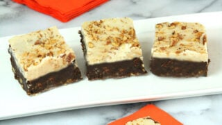 Kahlua Pumpkin Spice Brownies