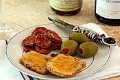 Pistachio & Cambozola Cheese Sables