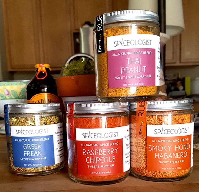 Spiceologist Spice Rubs