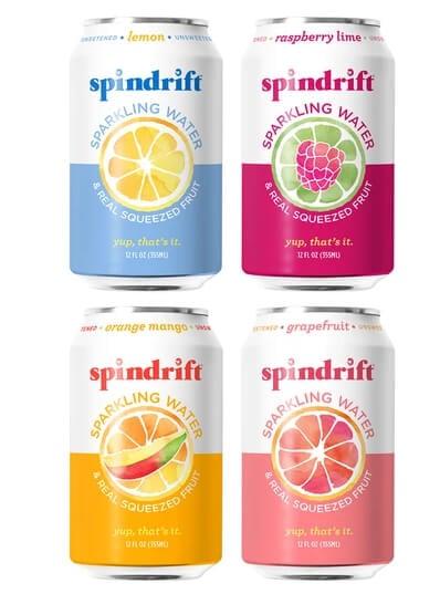 Assorted Spindrift Sodas