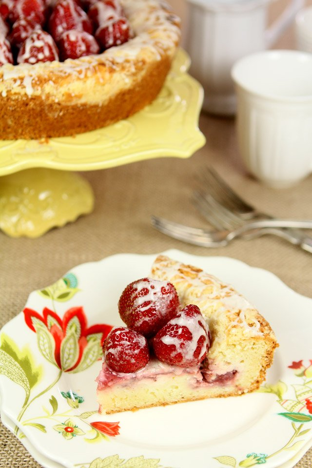 Strawberry Cream Cheese Coffeecake