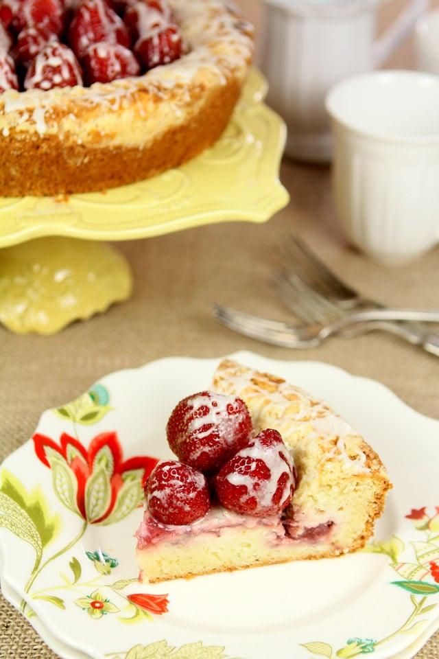 Strawberry Cream Cheese Coffeecake