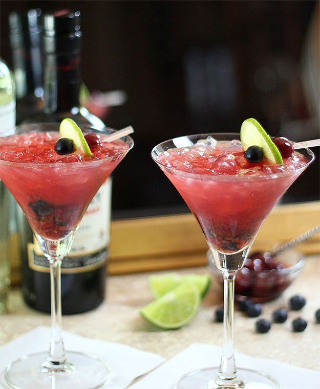 Tequila Smash Cocktail