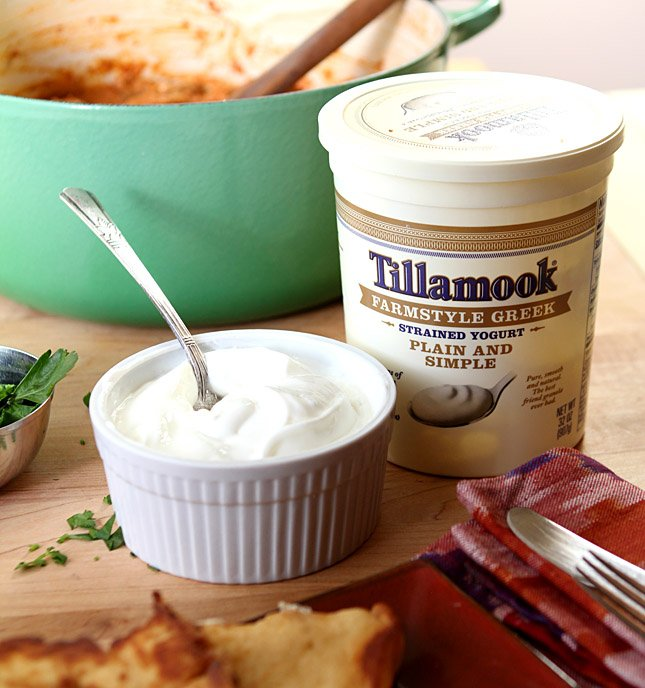 Indian Butter Chicken with Tillamook-