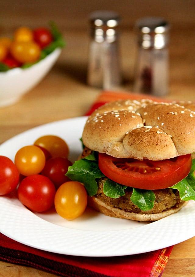 Tuna, Tarragon and Dijon Mustard Burger