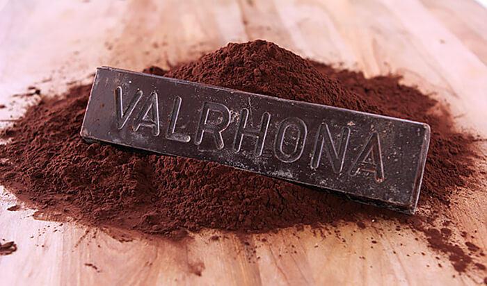 Valhrona Chocolate Bar and Cocoa