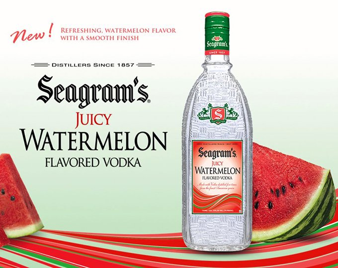 Seagram's Watermelon Vodka Advertisement